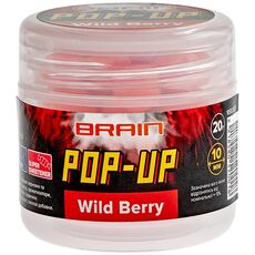 Бойлы Brain F1 Pop-Up Wild Berry (земляника)
