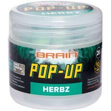 Бойли Brain F1 Pop-Up HERBZ (м'ята з часником)