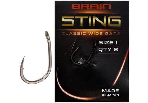 Крючок Brain Sting Classic Wide Gape
